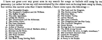 7. From: Sabine Baring-Gould, Introductory Article: Ballads In The West, in: The Western Antiquary, Vol. VIII, 1889, p. v - x, here p. vii