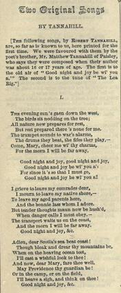 12. From: Alexander Whitelaw, The Book of Scottish Song, Glasgow 1855, p. 15